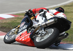 Factory Aprilia Millennium Technologies Team will race next in AMA SportBike competition in Atlanta, Georgia