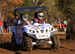 Yamaha 700 Rhino ready to race in the GNCC Lites Limited UTV Class in Crawfordsville, Indiana, photo by racedaypix.com