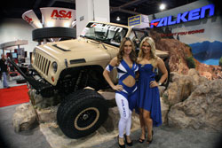 Falken had a quite impressive display at the SEMA 2012