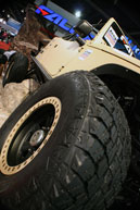 SEMA 2012 - Tires are a crucial part of any vehicle and Falken has you covered when it comes to offroad use