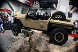 SEMA 2012 - The Jeep Wrangler is an iconic offroad machine that demands to get out on the trails