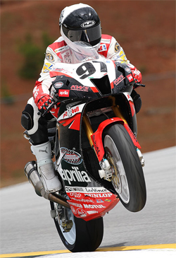 Ben Thompson is ready to resume competition in the AMA Daytona SportBike Series in Birmingham, Alabama