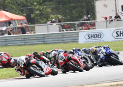 New Jersey Motorsports Park in Millville, New Jersey hosted Daytona SportBike Race Two