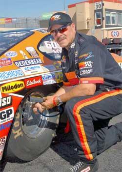 NHRA Drag Racer Mike Ferderer