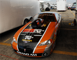 Mike Ferderer's K&N Filters car with its K&N Hood Scoop and air filter will compete in Super Gas in the NHRA Full Throttle Drag Racing Series in Phoenix, Arizona