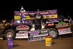 Chris Ferguson victory at 2016 Ultimate Late Model Series Championship at Virginia Motor Speedway in Jamaica, Virginia