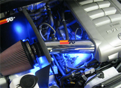K&N air intake system 77-9031KP on 2008 Toyota Tundra with a 5.7 liter engine