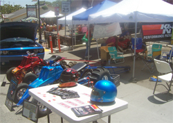 On Fire 4 God Motorsports promotes K&N at the Frazier Mountain Car Club Show in Frazier Park, California