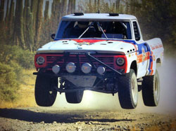 K&N's Mike Ryan along with teammates Bruce Galien and Bob Motheral finished 6th in the Vintage Open Truck class in the 2013 NORRA Mexican 1000.