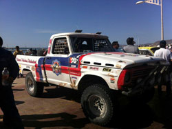The 45-year-old F-100 first raced back in the 80's.
