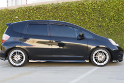 Honda Fit at K&N headquarters in Riverside, California