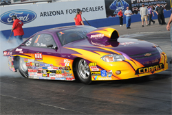 K&N sponsored racer Dan Fletcher made the cut for the Jegs Allstars roster in Comp Eliminator