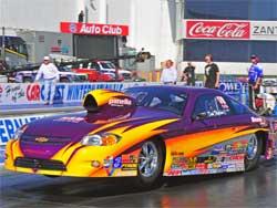 Dan Fletcher at Pomona in Competition Eliminator