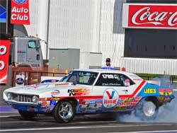 Thomas Fletcher raced Stock class in Pomona