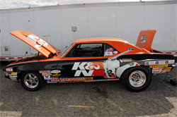 1969 Camaro Stock car owned and driven by Dan Fletcher, one of the most recognizable sportsman class drivers in Drag Racing