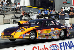 NHRA Competition Eliminator World Champion Dan Fletcher