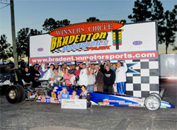 $10,000 opening event win for Brian Folk in the 5-Day Bracket Championships at Palm Beach International Raceway in Florida