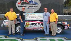 Big Payday for Footbrake Racer at Bristol Dragway in Bristol, Tennessee