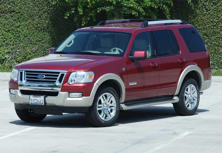 2006 Ford Explorer. 2007 Ford Explorer