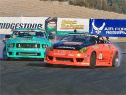 Gittin and Forsberg battle at Infineon Raceway