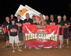 Forsberg's Placerville Speedway Championship marked the 10th overall championship of his career.