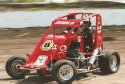 His continuing need for speed has taken 16-year-old Frankie into a four-way battle for the 600 stock non-wing class championship.