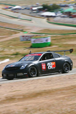 Driver Paul Brown's blistering lap-time was good enough for the win over all time attack classes.
