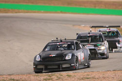 The fan favorite K&N Motorsports G35 was so impressive all weekend that the team was asked to run with the big-guns in the televised Circuit Battles event on Sunday.