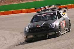 Paul Brown driving the K&N Time Attack G35.