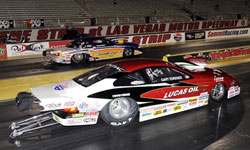 NHRA Division 7 Super Comp and Southern California Super Comp Driver Gary Forkner