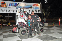 After clinching the 2011 ROY and Restricted 600 Class Champion at Lemoore Raceway, there's no sign of let-down in Giovanni driving this season.