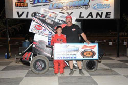 Giovanni Scelzi is the 2011 ROY and Restricted 600 Class Champion at Lemoore Raceway.