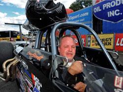NHRA Super Comp Racer Gary Stinnett at Brainerd International Raceway