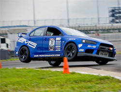 2008 Mitsubishi Lancer Evo X Redline Time Attack Victory at Nashville Super Speedway