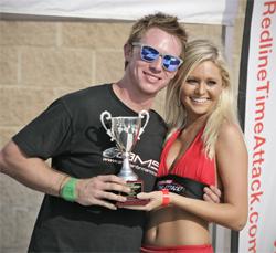 Ryan Gates will next race in Round 5 of the Redline Time Attack Series at Carolina Motorsports Park in Kershaw, South Carolina