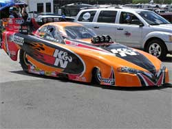 K&N Filters Chevy at AC Delco Gatornationals