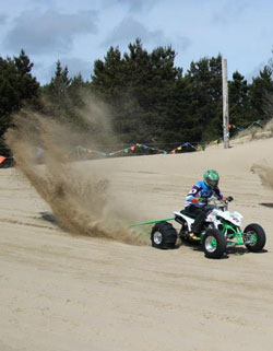 In 2010, at age 64, Gary Armstrong entered his first pro ATV drag race and won the event.