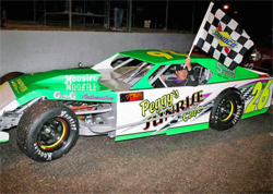 Christopher Gerchman takes victory lap in The First Super Clean Modified Series Race of the season