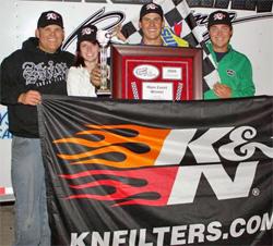 Gerchman Racing Team Celebrate at Havasu 95 Speedway in Lake Havasu City, Arizona