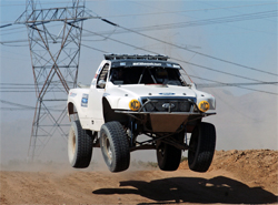 The Glass Chiropractic Racing Team Ford F-150 in the Terrible's 250 at Primm, Nevada, photo by EventPhotoDigital.com
