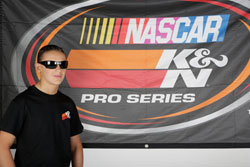NASCAR K&N Pro Series East racer Gray Gaulding