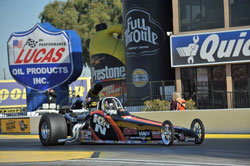 Greg Boutté's win at the 28th annual NHRA Full Throttle Drag Racing Series Arizona Nationals was his third of the 2012 season.