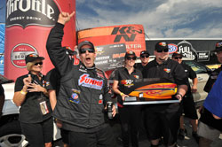 This victory marked Greg Anderson's fourth K&N Horsepower Challenge Championship and ties him with Kurt Johnson for the most wins.