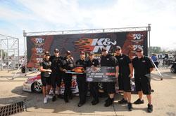 NHRA Pro Stock driver Greg Anderson wins the $50,000 K&N Horsepower Challenge jackpot