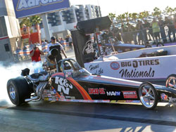 Greg Boutte uses K&N products all over his NHRA Super Comp dragster