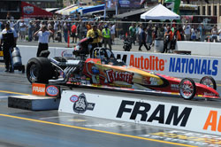 Greg Boutte at NHRA Sonoma Nationals