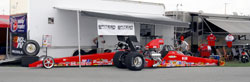 Greg Kamplain has completed 37 years of drag racing