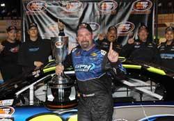 2011 NASCAR K&N Pro Series West Champion Greg Pursley