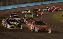 Race Action at NASCAR K&N Pro Series at Phoenix International Raceway