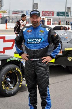 NASCAR Pro Series West driver Greg Pursley